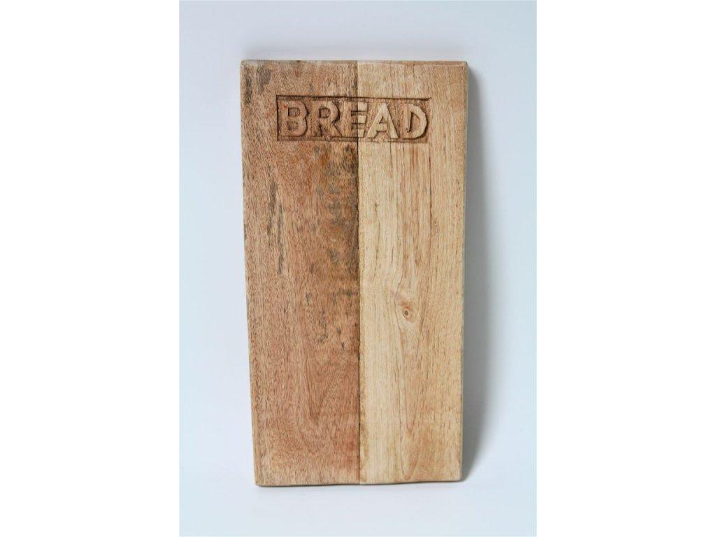 Prkénko dřevěné BREAD menší