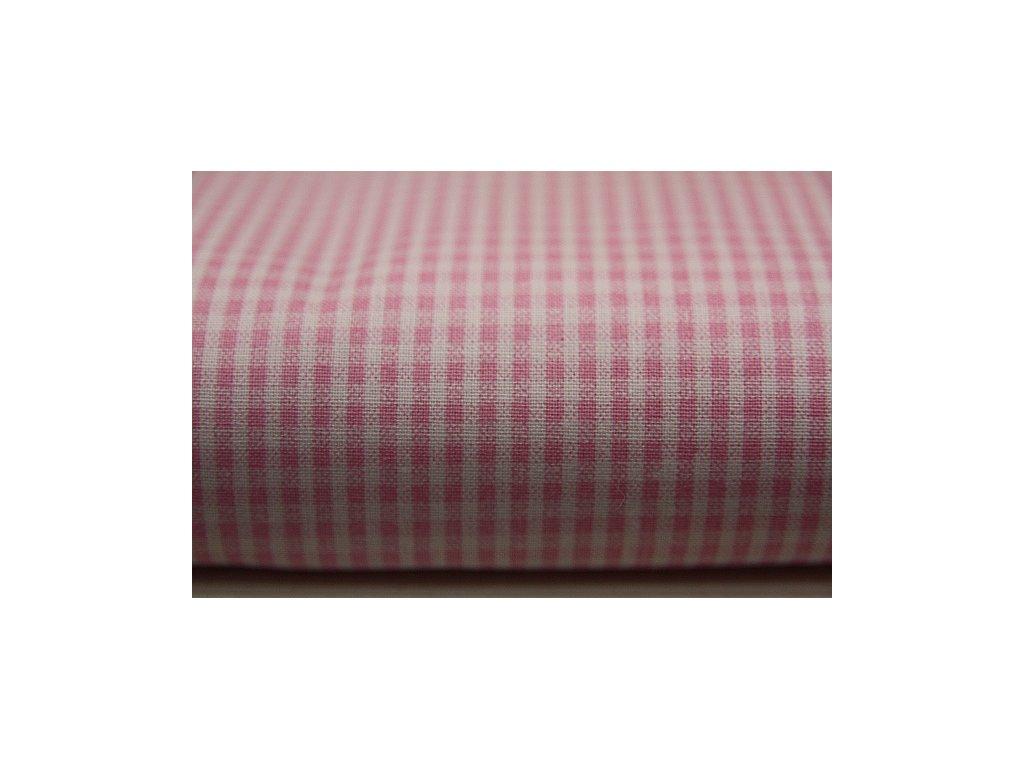 Metráž růžová kostička