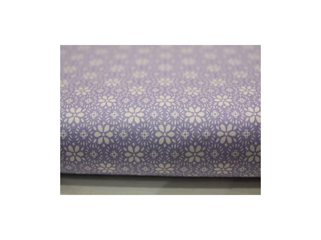 Metráž fialové paraplíčko 6,80m