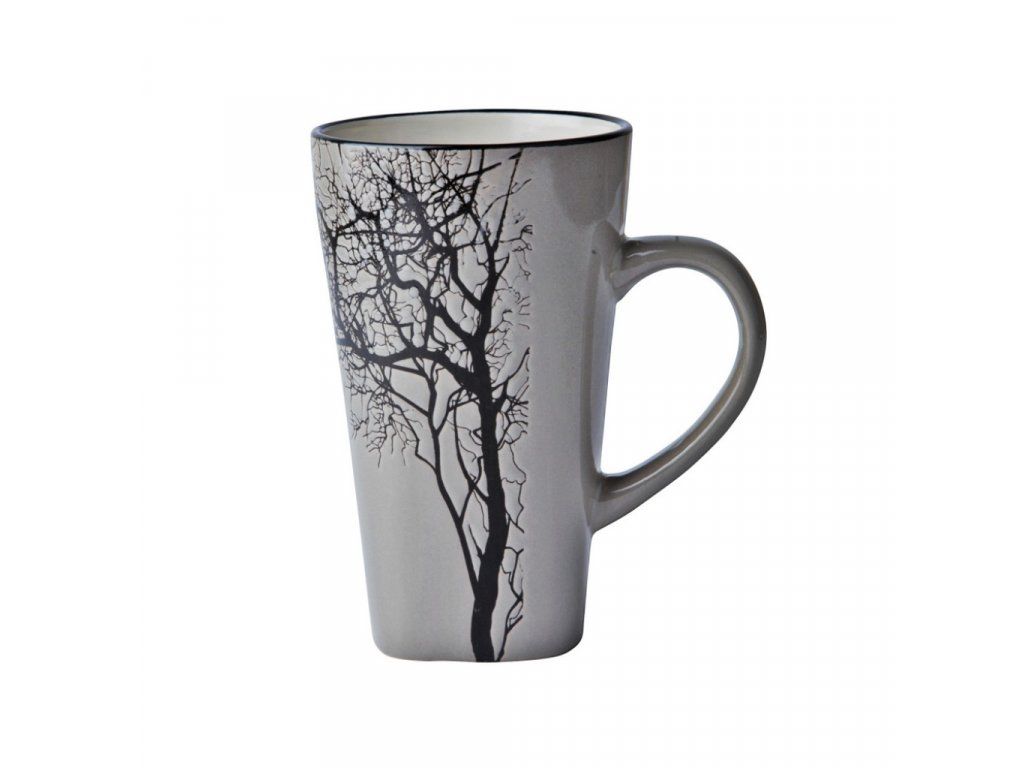 Hrnek se stromem 0,5l šedý