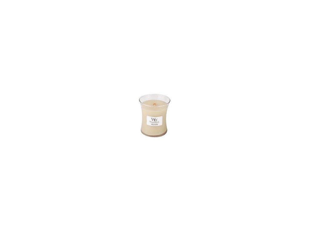 WoodWick Vanilla Bean sklo střední