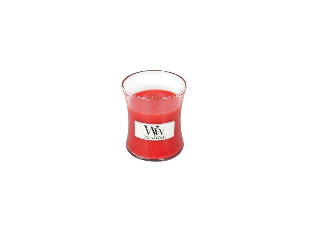 WoodWick Crimson Berries sklo malé