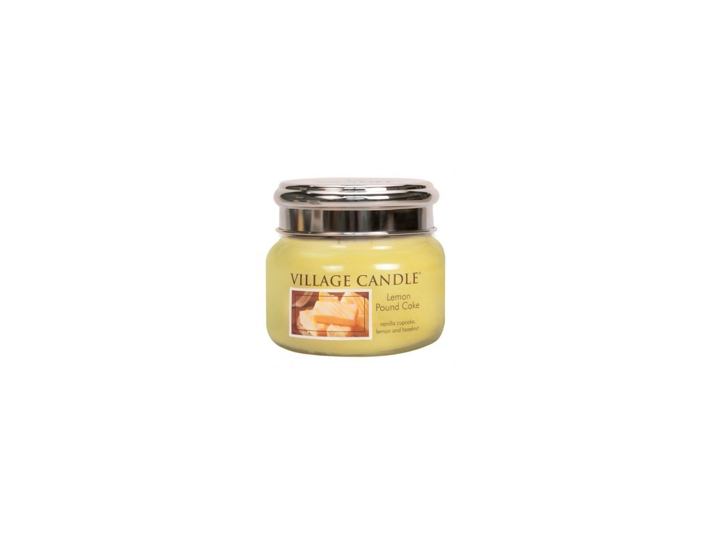 45595 11726 village candle vonna svicka ve skle citronovy kolac lemon pound cake 11oz