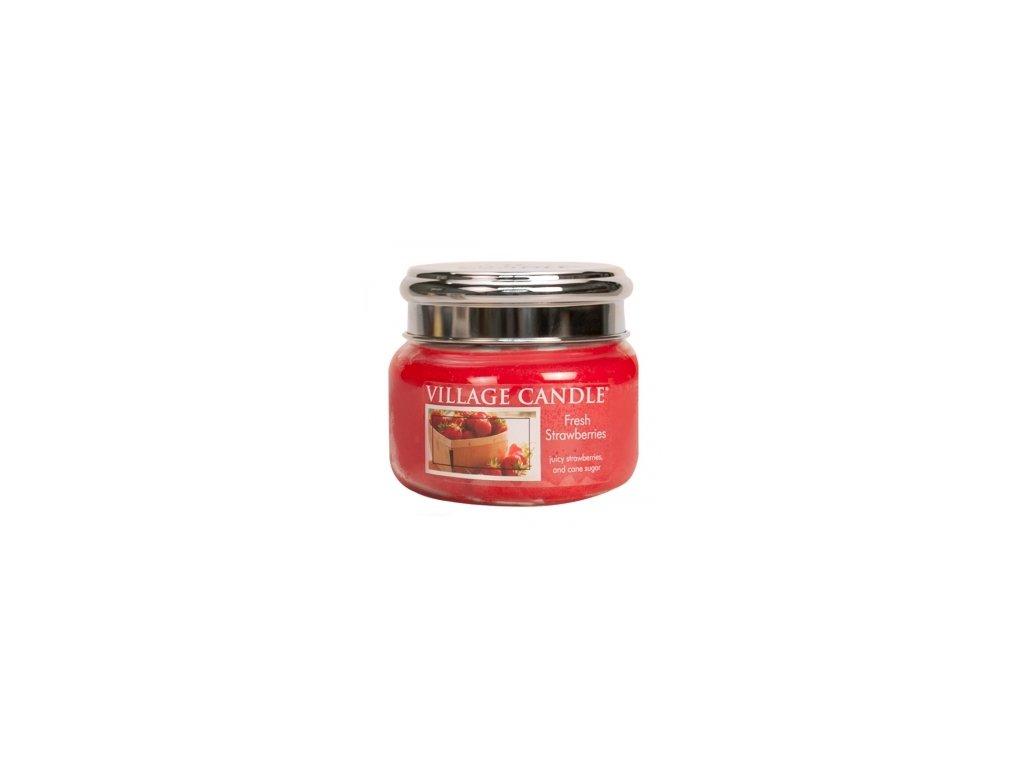 45597 11730 village candle vonna svicka ve skle cerstve jahody fresh strawberry 11oz