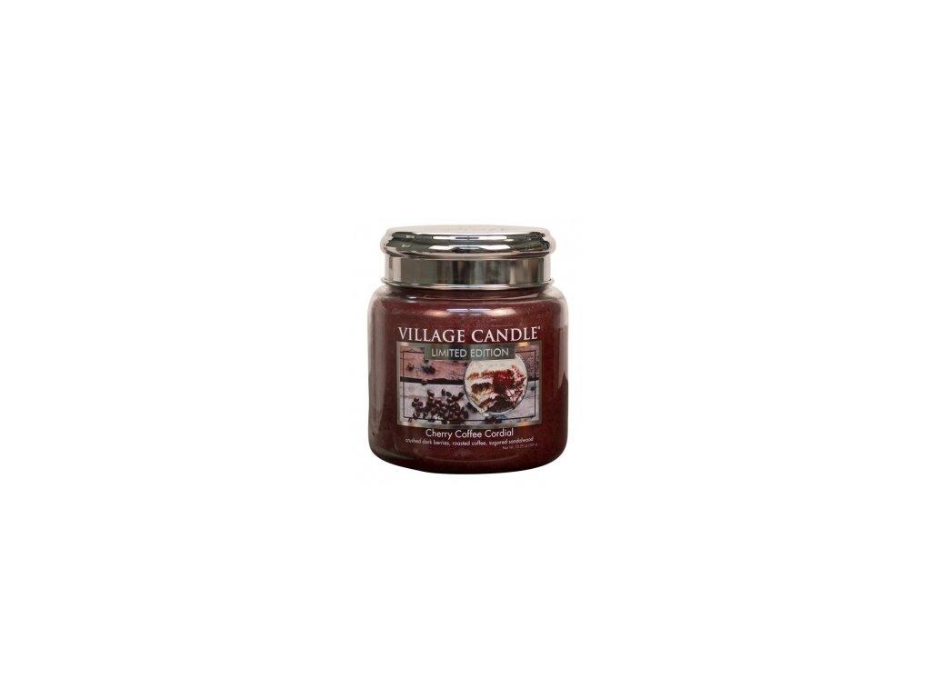 47146 12665 village candle vonna svicka ve skle tresnovo kavovy liker cherry coffee cordial 16oz
