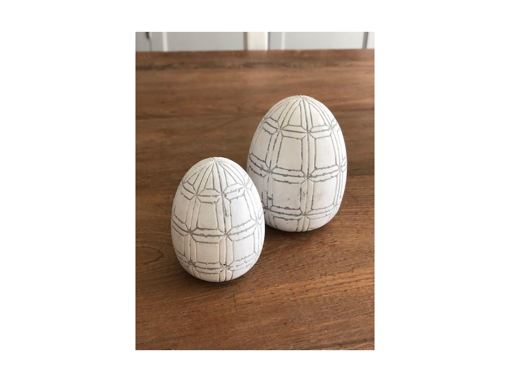 vejce kamenina bílé 2