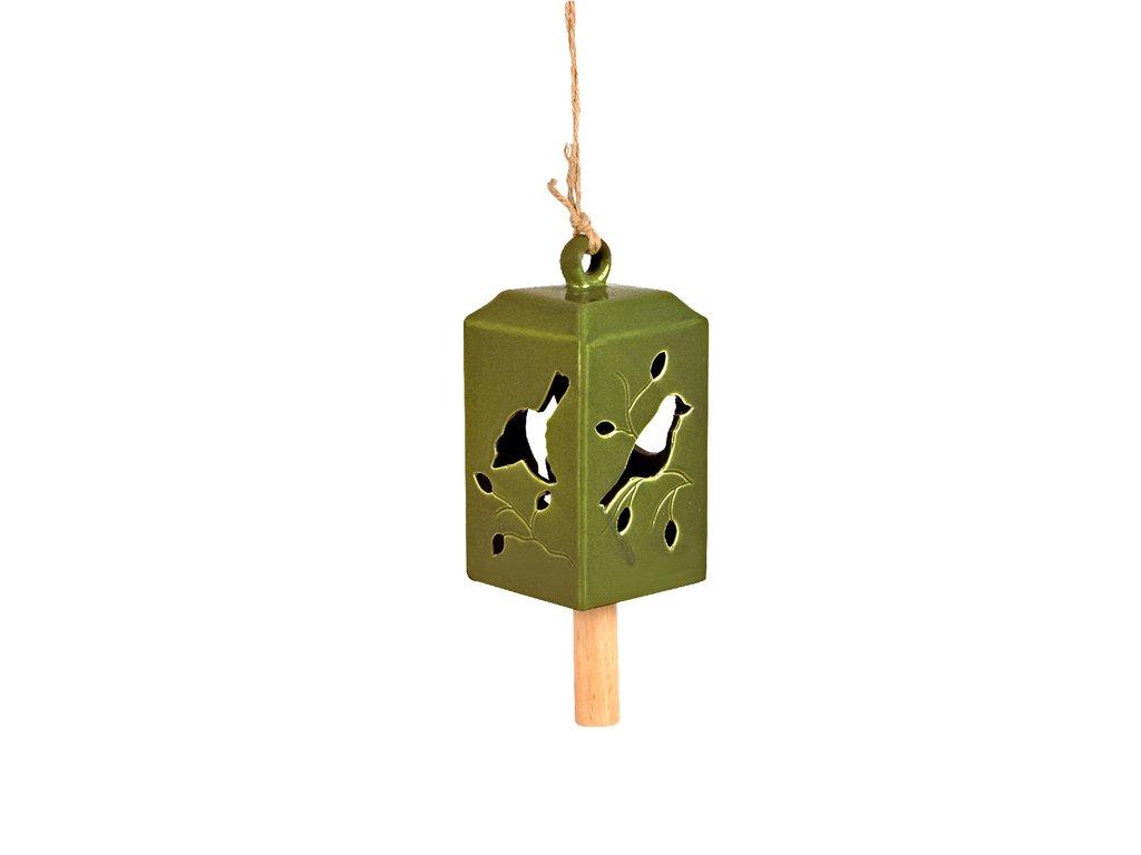 zvobek keramický zelený