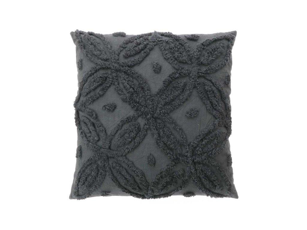 polštář yaron tmavě šedý