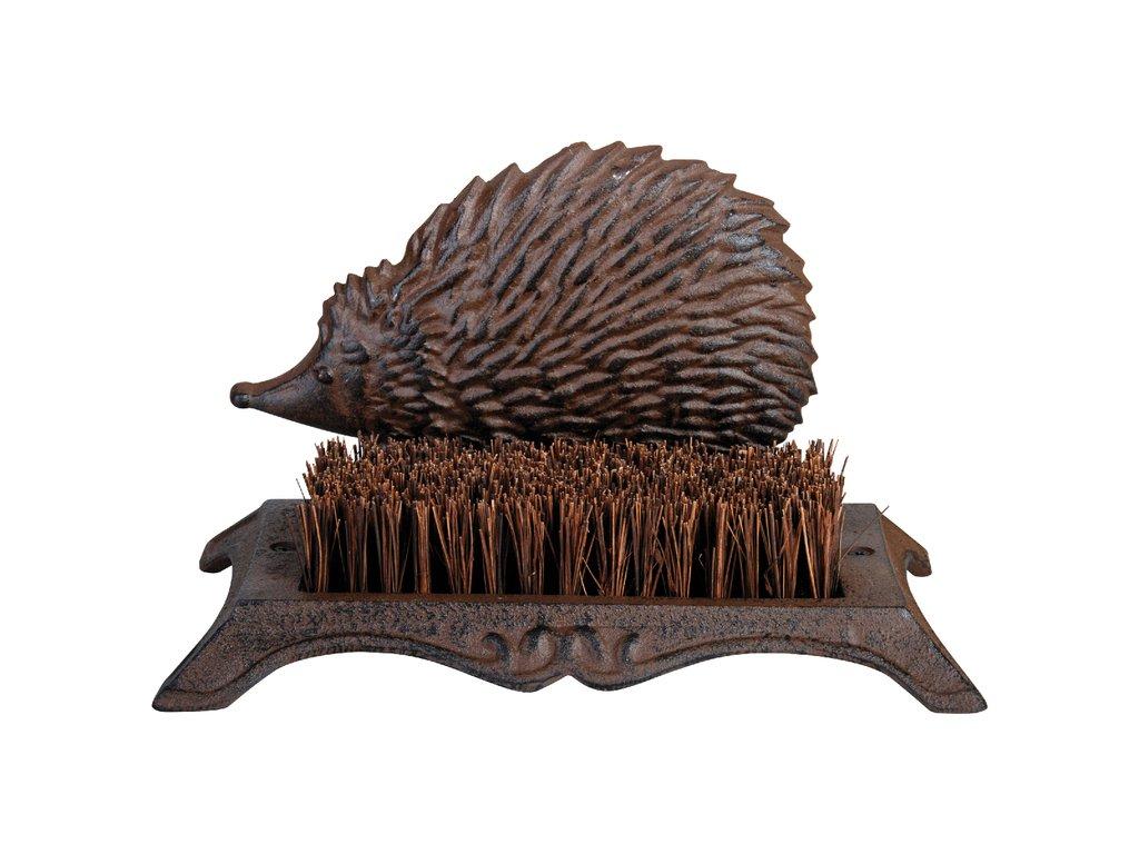 kartáč na boty s ježkem