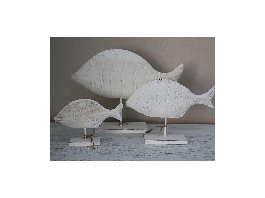 Ryby stojací bílé- nejmenší