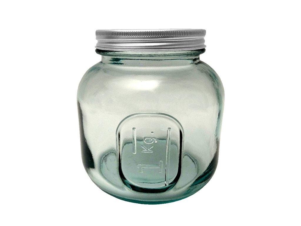 dóza recyklované sklo