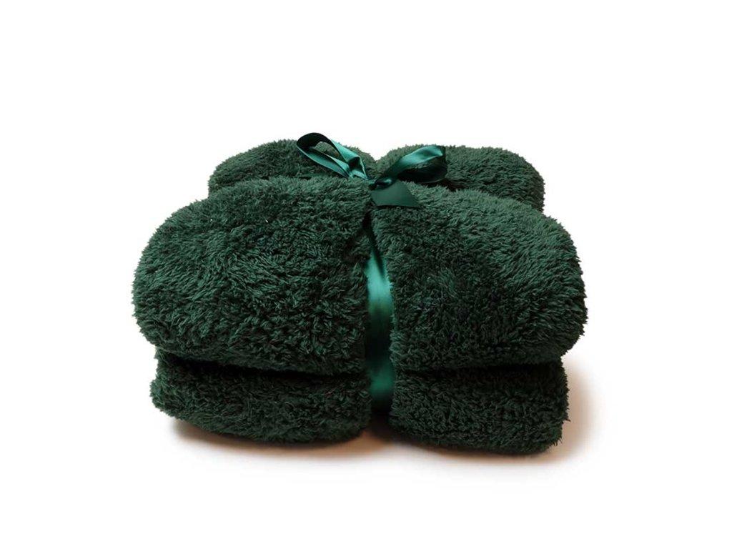 deka teddy dark green