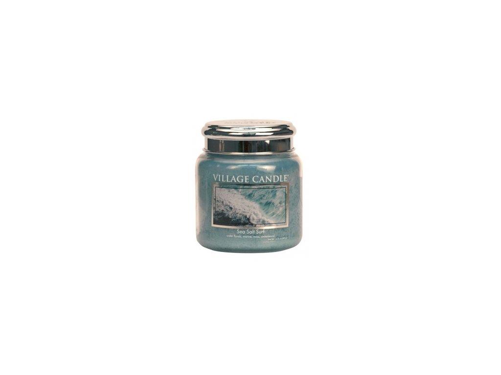 village candle mořský příboj střední