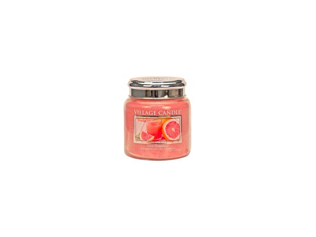 village candle juicy grapefruit střední