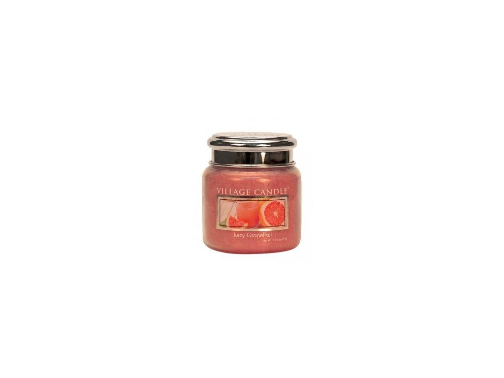 village candle juicy grapefruit mini