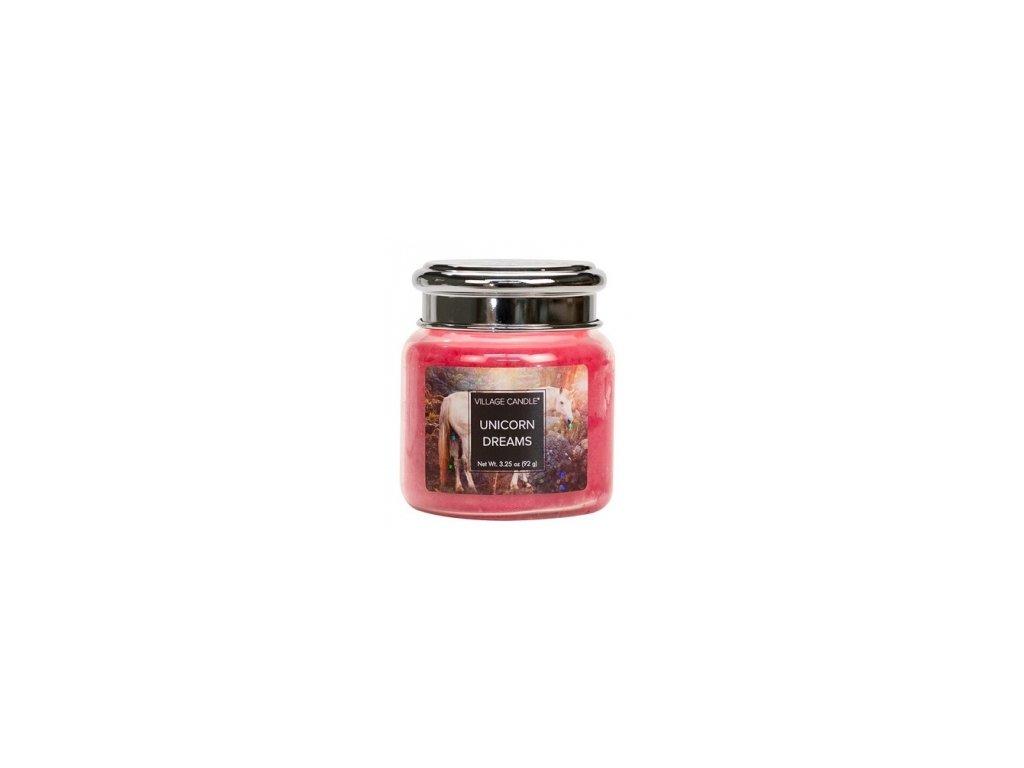 village candle sny jednorožce mini
