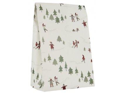 papírový sáček ib laursen vánoční