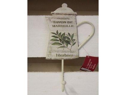 Věšáček- konvička- s bylinkama