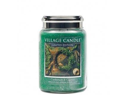 village candle kardamon a cypriš 602g.