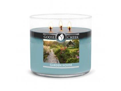 vonná svíčka goose creek garden house