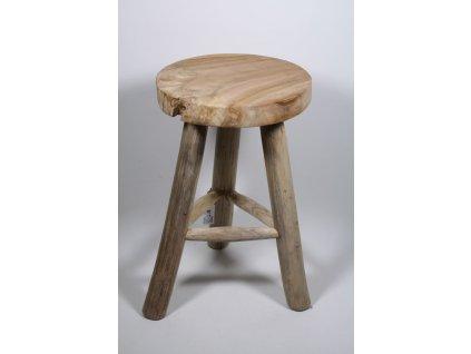 stolička teak