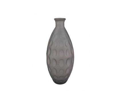 váza dune matná hnědá
