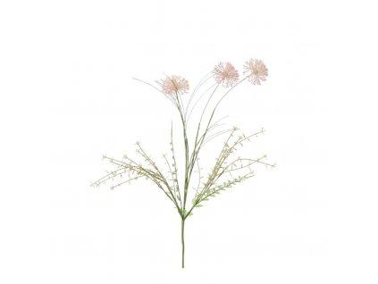 umělá květina allium