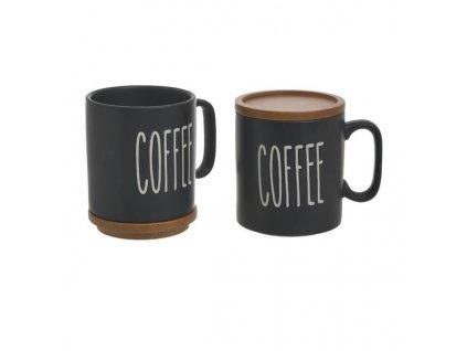 hrnek na kávu černý