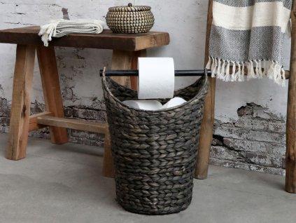 koš na toaletní papír