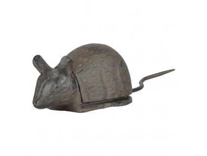 litinová skrýš na kláče myš