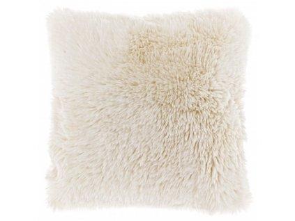 polštář ofaf chlupatý ivory