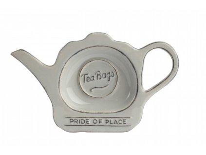 Odkladač na čajový sáček PRIDE OF PLACE, šedá