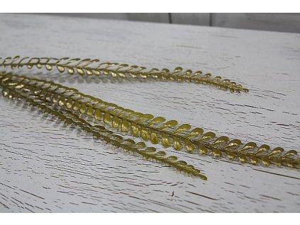 Větvička umělá zlatá