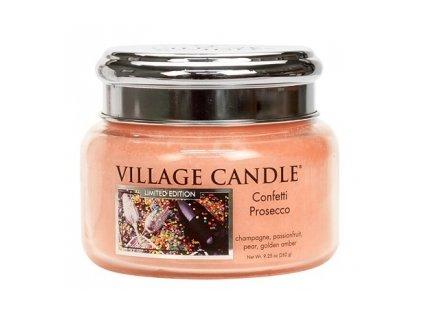 48129 13672 village candle vonna svicka ve skle confetti prosecco 11oz