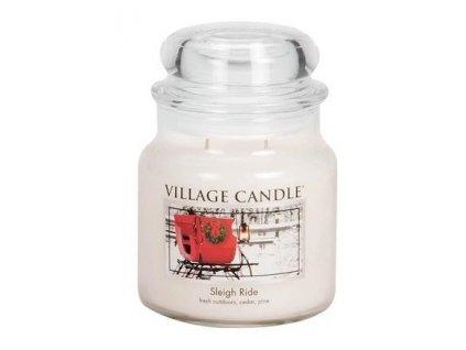 43325 8461 village candle vonna svicka ve skle zimni vyjizdka sleigh ride 16oz