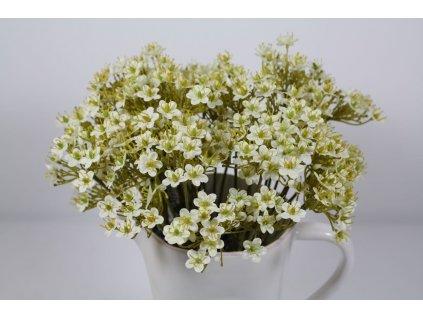 Umělá květina- drobná bílá kvítka