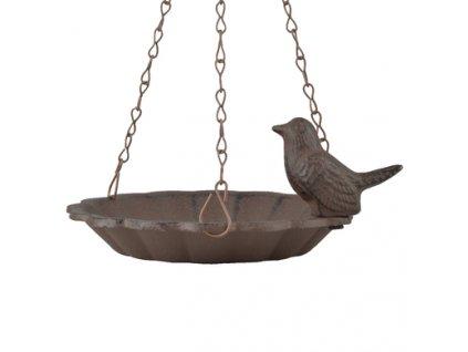 pítko litinové s ptáčkem
