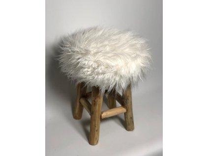 stolička teaková