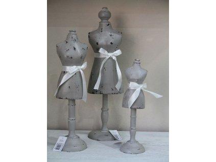 Panna šedá dřevěná- nejmenší
