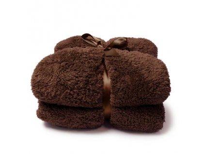 deka teddy bison brown
