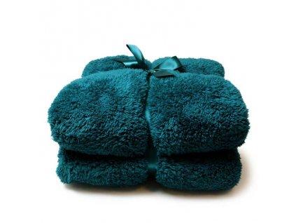 deka teddy everglade blue