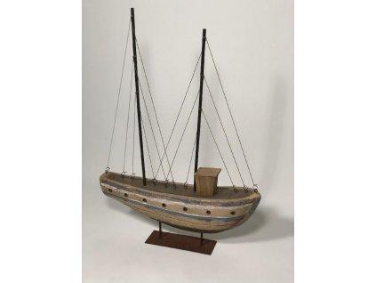 loď dřevěná velká