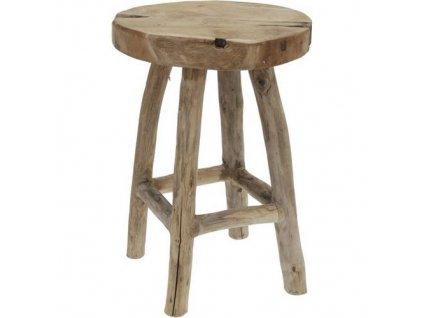 stolička dřevo