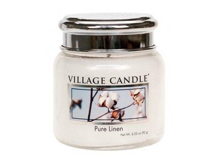village candle mini čisté prádlo