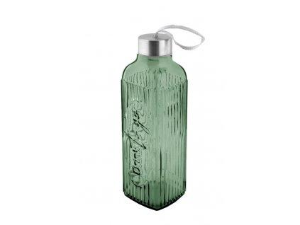 lahev s uzávěrem zelená