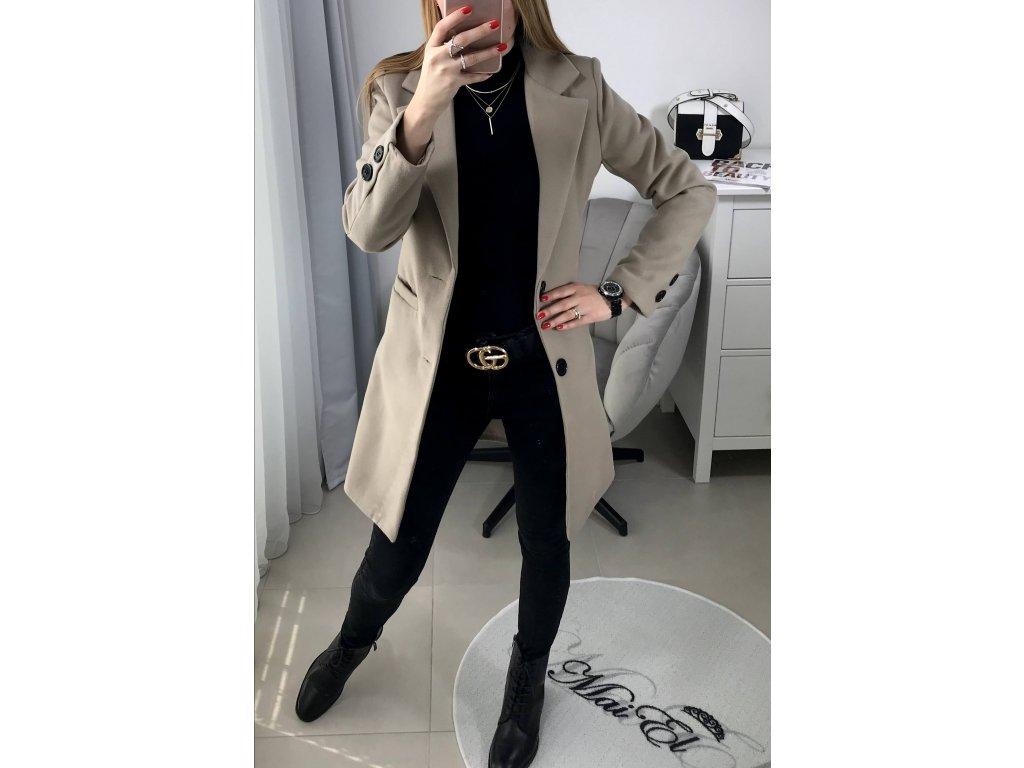 Béžový kabát Daily