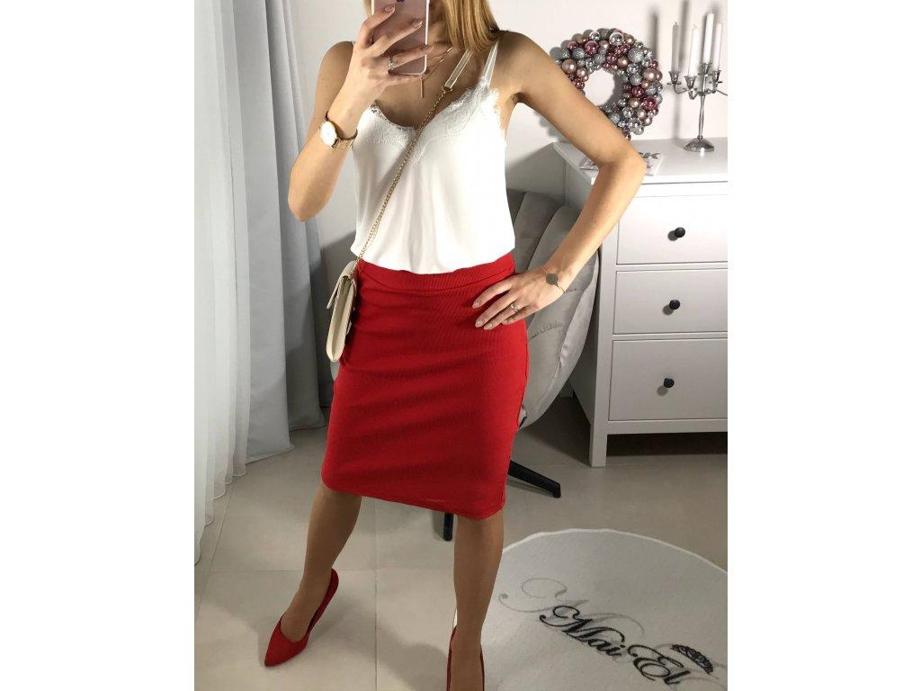 Pouzdrová sukně Tinna