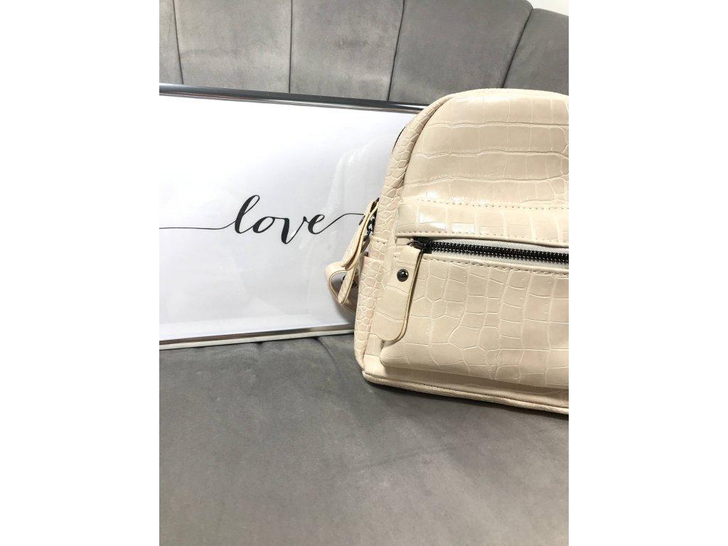 Béžový batoh
