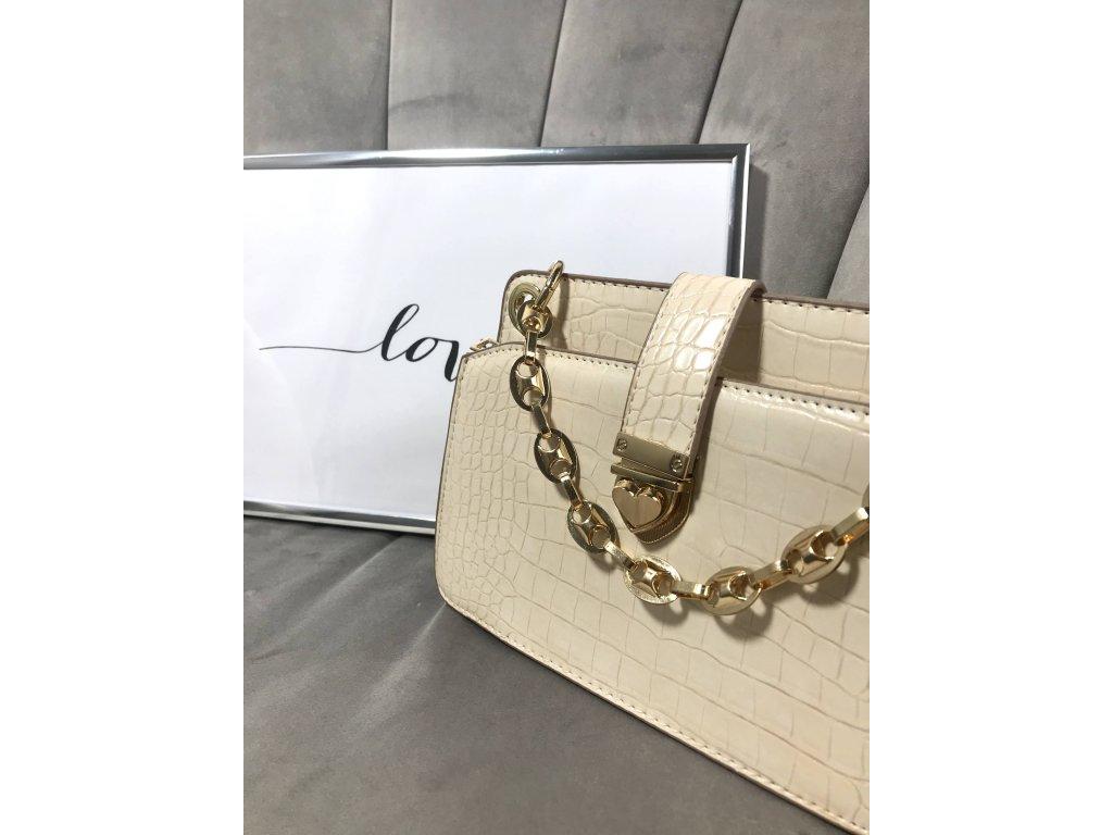 Béžová kabelka do ruky