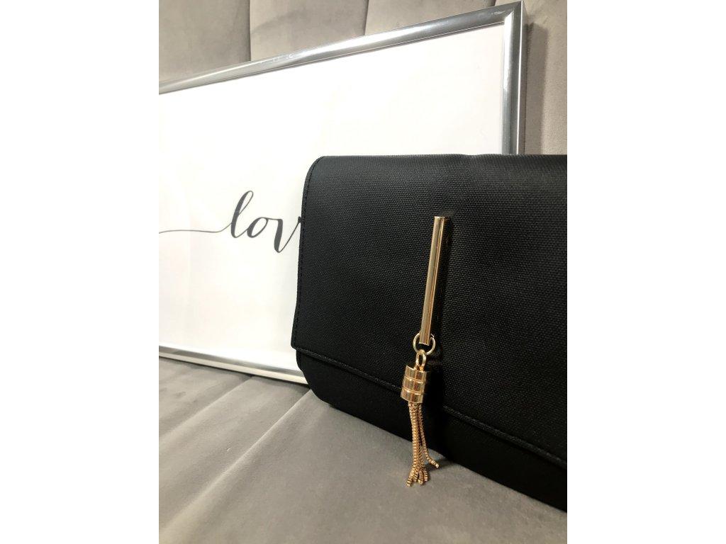 Černá mini kabelka